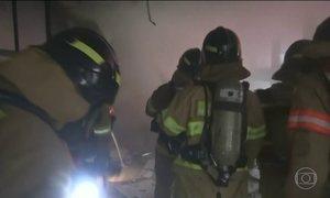 Incêndio se alastra por hospital de Seul