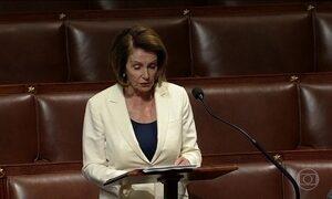 Deputada democrata faz discurso mais longo do Congresso Americano