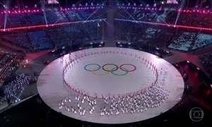 Jogos Olímpicos de Inverno são abertos oficialmente