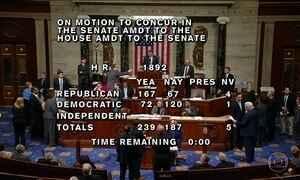Congresso americano aprova o orçamento para os próximos dois anos