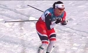 Uma das maiores atletas olímpicas de inverno fica com a prata em PyeongChang