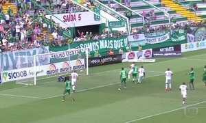 Chapecoense vence o Brusque pelo campeonato catarinense