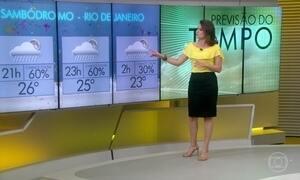 Segunda-feira deve ter chuva forte nas capitais paulista e fluminense