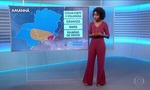 Previsão é de chuva forte para o Rio nesta quarta (14)