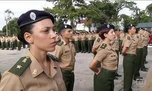 Pela primeira vez, mulheres ingressam na Academia Militar das Agulhas Negras
