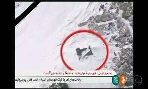 Equipes de busca do Irã localizam destroços de avião que desapareceu domingo
