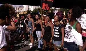 Manifestantes protestaram contra assassinatos de Marielle e Anderson em SP