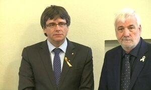 Ex-presidente da Catalunha é detido na Alemanha