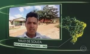 Riacho dos Machados, Ouro Branco, Espigão D'Oeste, Careiro da Várzea, Sud Mennucci