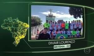 Vídeos de Campo do Brito (SE), Caieras Velha/Aracruz (ES), Paulo Jacinto (AL), Caibaté (RS), Pouso Redondo (SC), Britânia (GO) e Belo Monte/Vitória do Xingu (PA)
