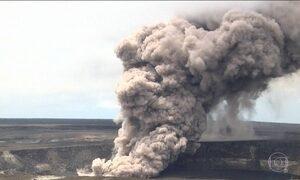 Cientistas alertam para novas erupções do vulcão Kilauea