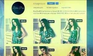 Fantástico mostra como agem quadrilhas que montam falsas lojas de roupas na internet