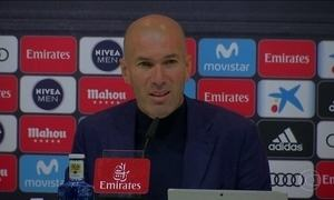 Zinedine Zidane anuncia saída do Real Madrid