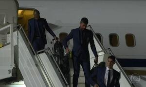 Seleção chega a Sochi, cidade base para o Brasil na Copa