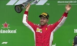 Sebastian Vettel retoma a liderança do campeonato