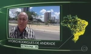 Vídeos de Petrolina, Doverlândia, Morro do Chapéu, Bagé, Santa Izabel do Pará e Niterói