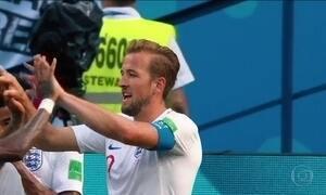 Inglaterra protagoniza maior goleada da Copa até agora contra Panamá