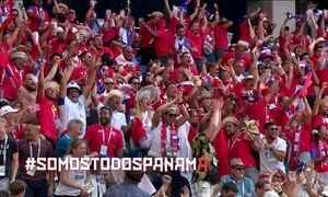 Jogadores e torcida do Panamá são destaque pela alegria