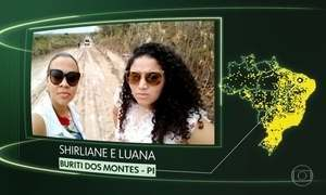 Buriti dos Montes, Suzanápolis, Paraibano, Floresta, Santa Rita do Passa 4, Tupiratins