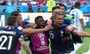 França enfrenta Bélgica no primeiro jogo da semifinal da Copa
