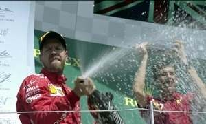 Sebastian Vettel supera Hamilton no GP da Inglaterra