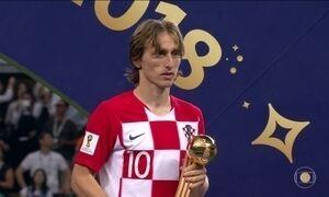 Mbappé e Modric são eleitos os craques da Copa da Rússia