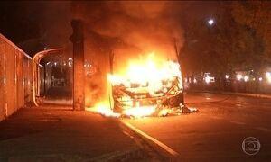 Fortaleza tem segundo dia de ataques a ônibus