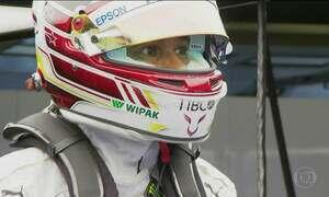 Hamilton larga na frente no Grande Prêmio da Hungria da F1