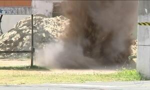 Criminosos atiram granada em prédio de delegacia em Maracanaú (CE)