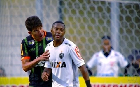América-MG sai na frente do Atlético-MG na final do Mineiro