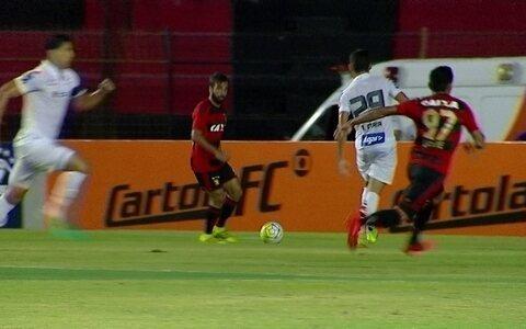 Sport bate Santos, se afasta do Z-4 e encerra boa sequência do Peixe