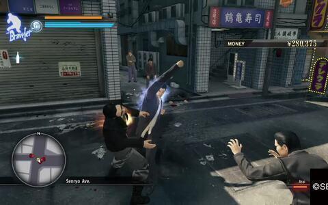 Yakuza 0 - Gameplay do jogo