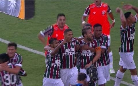 Flu atropela Goiás no  segundo tempo e garante  vaga na Copa do Brasil