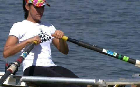 Viviane Costa aprende o remo olímpico