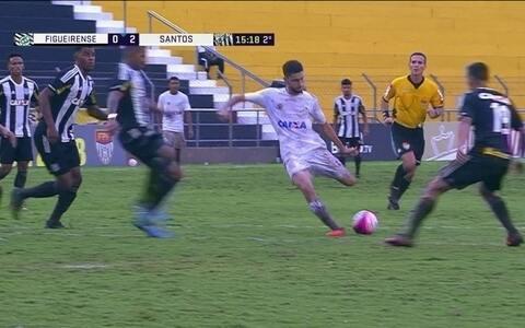 Santos bate Figueirense e se classifica para as oitavas de final da Copinha