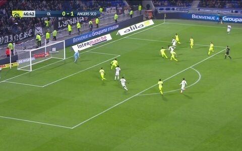 Lyon e Angers ficam no empate em 1 a 1 no Campeonato Francês