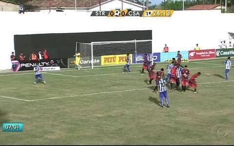 CSA empata com o Santa Rita por 2 a 2, em Boca da Mata