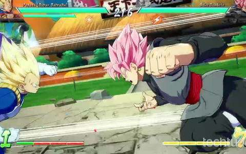 Dragon Ball FighterZ - Gameplay comentado