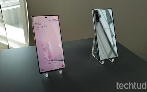 Samsung Galaxy Note 10 e Note 10 Plus: saiba tudo