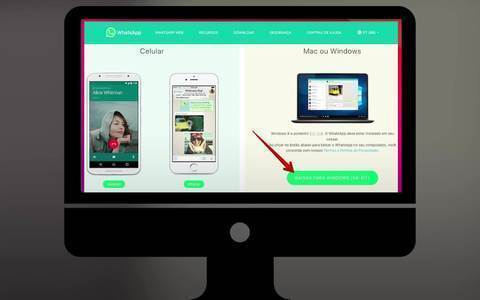 WhatsApp tem função para fazer chamadas de vídeo e voz no computador