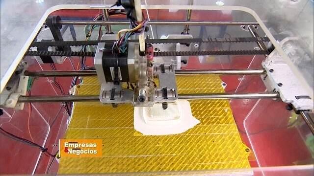 Impressora 3D possibilita 'mil e um negócios'