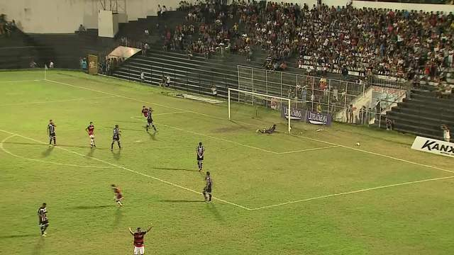 Assista aos gols do empate que deixou a Patativa  de fora da segunda fase da Série D do Brasileiro