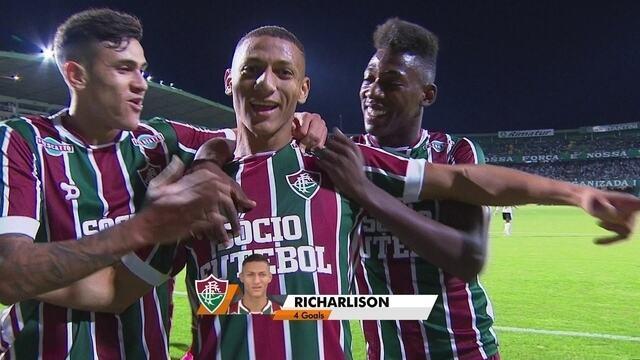 BLOG: A terrific goal: Confira a narração em inglês do golaço de Richarlison para o Fluminense