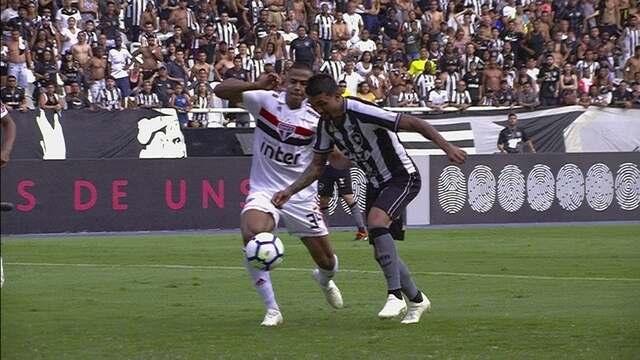 Melhores momentos: Botafogo 2 x 2 São Paulo pela 27ª rodada do Brasileirão