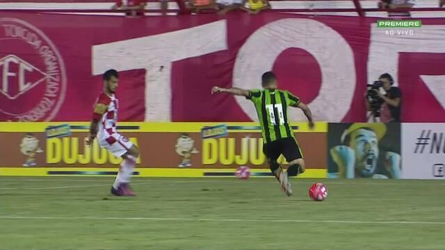e27bb1f9417 Tombense 1 x 2 América-MG - Campeonato Mineiro 2019 rodada 4 - Tempo ...