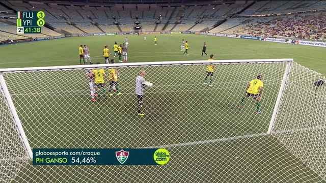 Paulo Henrique Ganso é eleito o craque do jogo, aos 41' do 2º tempo