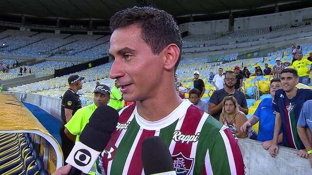Craque dom jogo, PH Ganso fala sobre vitória do Fluminense