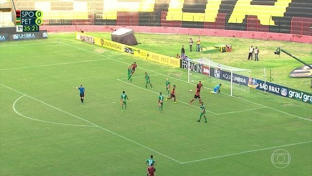 Assista aos melhores momentos de Sport 4 x 0 Petrolina pelo Pernambucano