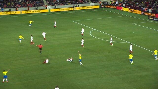 Melhores momentos: República Tcheca 1 x 3 Brasil em Amistoso Internacional