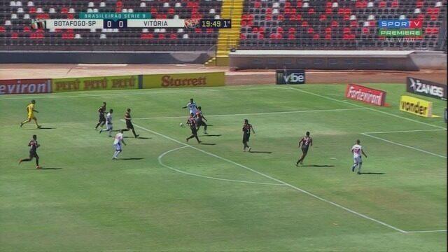 Botafogo Sp 3 X 1 Vitória Campeonato Brasileiro Série B